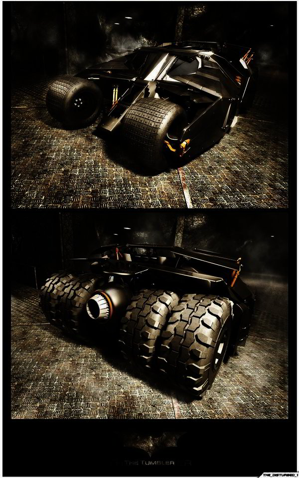 Batmobile - The Tumbler