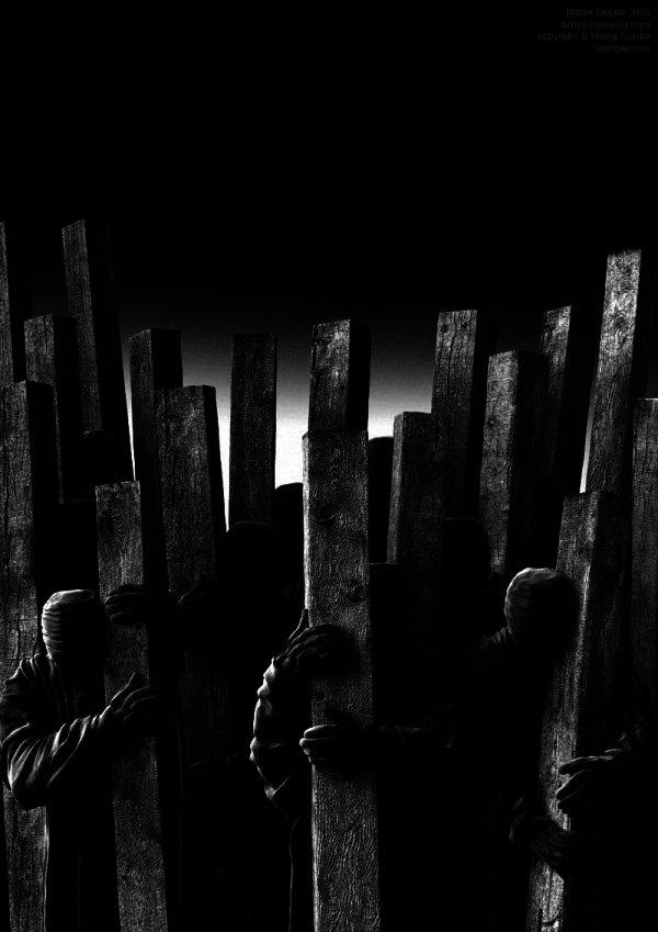 Crowd - 8 by Marek Denko