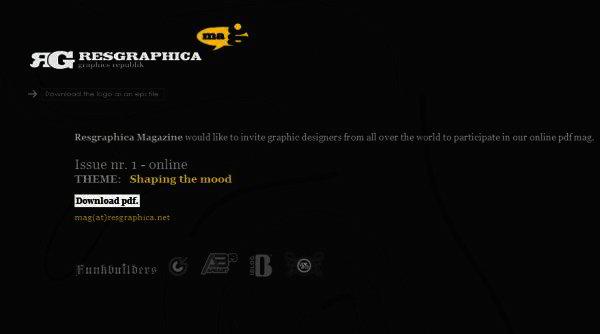 Resgraphica magazine