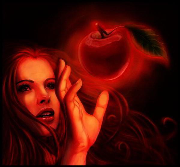 Forbidden Fruit by Daniela Uhlig
