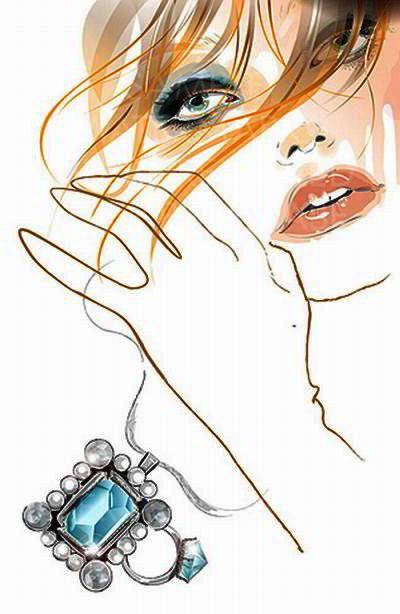Woman Illustration from Templatescom