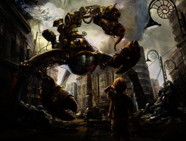 Steampunk Illustrations