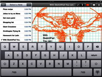 SketchPad HD - iPad app