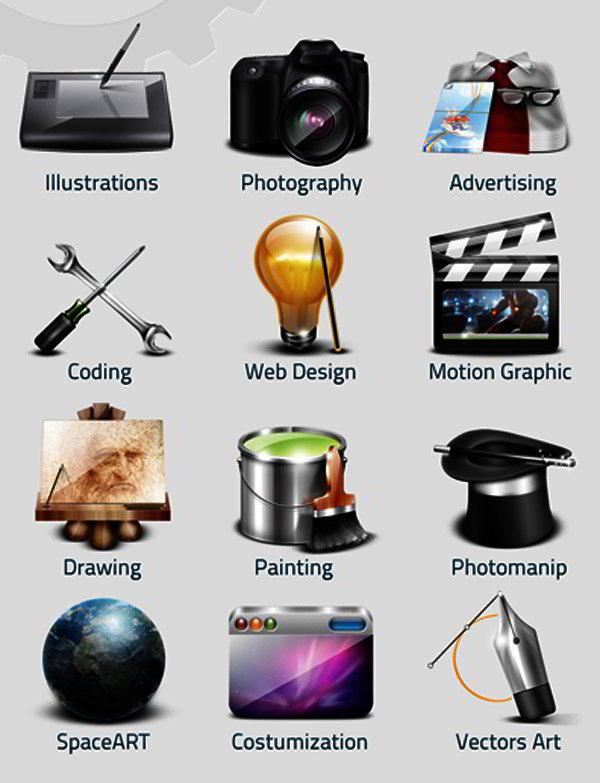 free usability icons