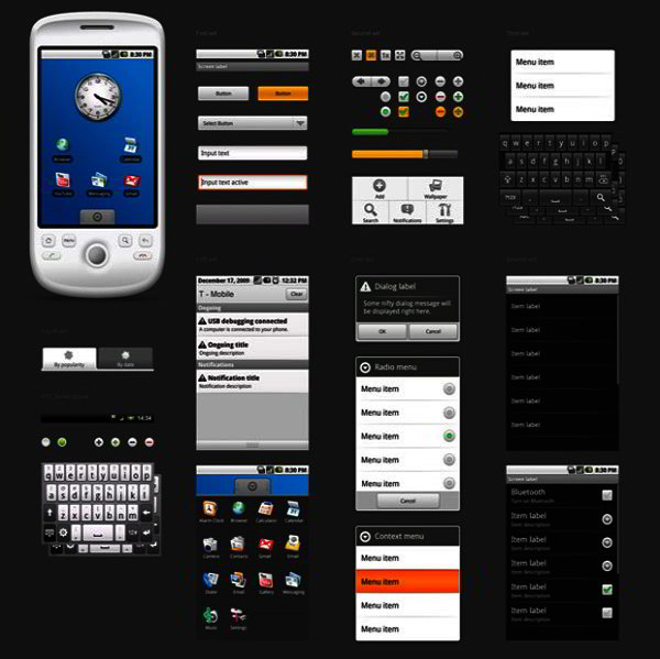 android gui tools