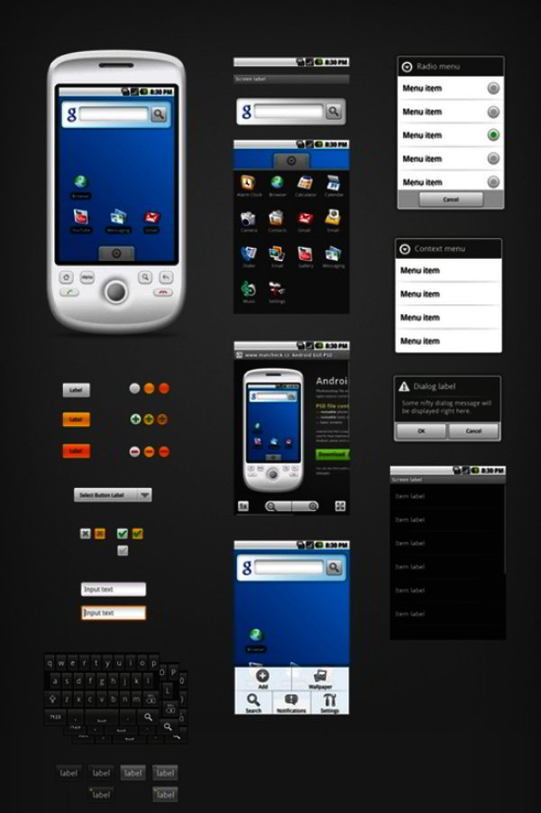 android gui kits