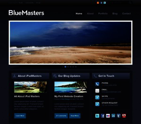 Free download drupal 7 website templates vibeloadfre for Drupal 7 view template
