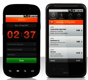 Android Apps for Freelancers