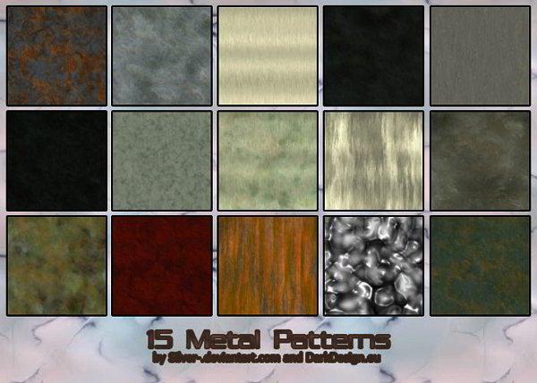 Free Photoshop Metal Patterns