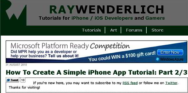 How to Create an iPhone App
