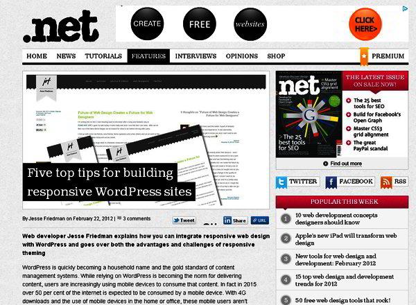 Five Tips to Building Responsive WordPress Template