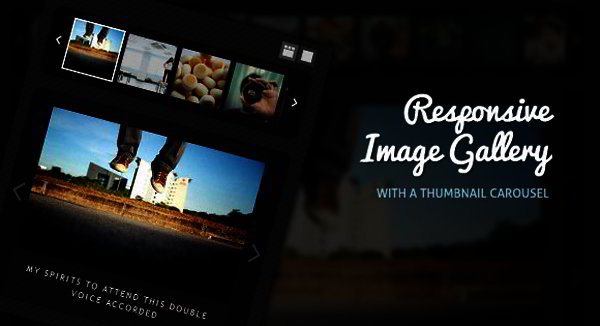 Responsive Image Gallery