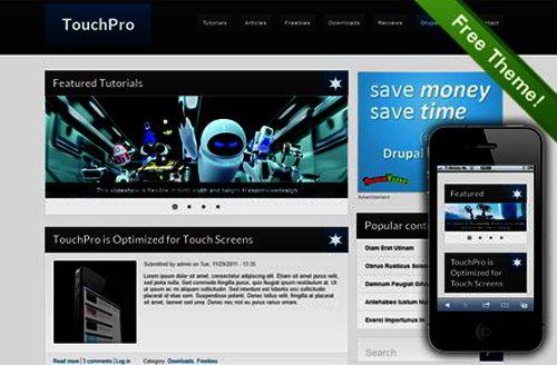 Free Drupal 7 Themes