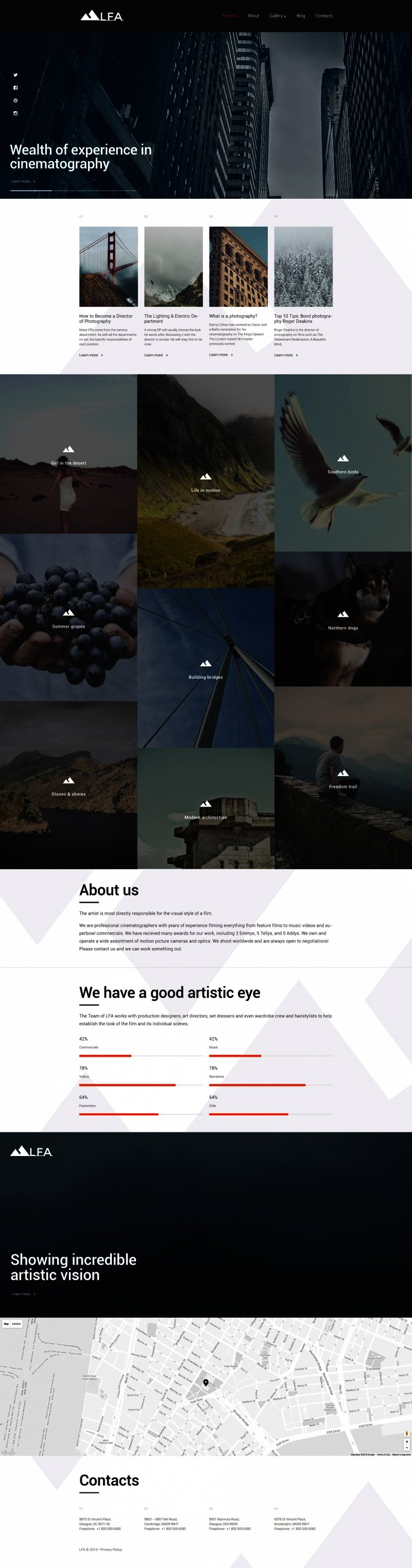photo WordPress theme