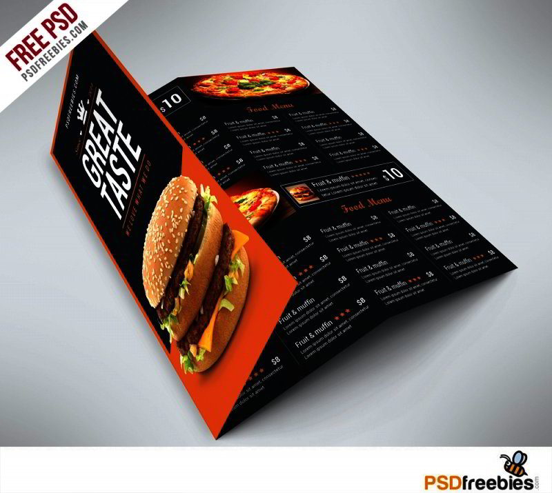 Fast-Food-Menu-Trifold-Brochure-Free-PSD