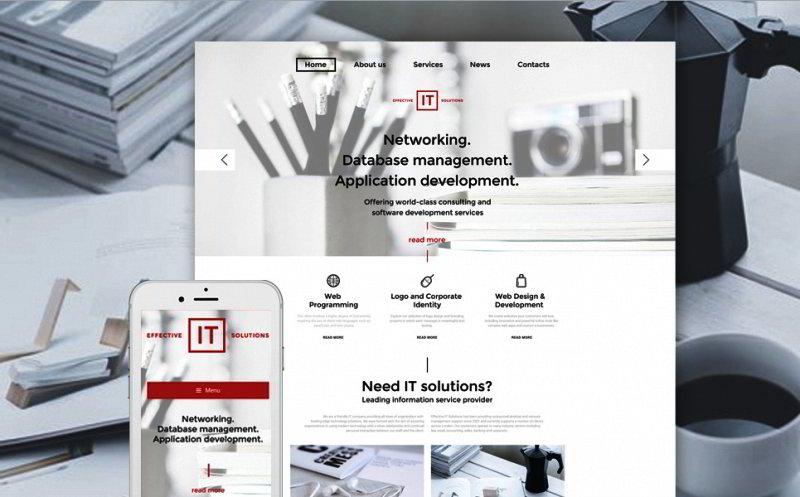 Information Technology WordPress Template