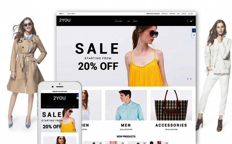 Fashion Clothes Magento Theme