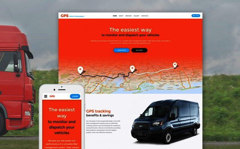 Logistics Website Template