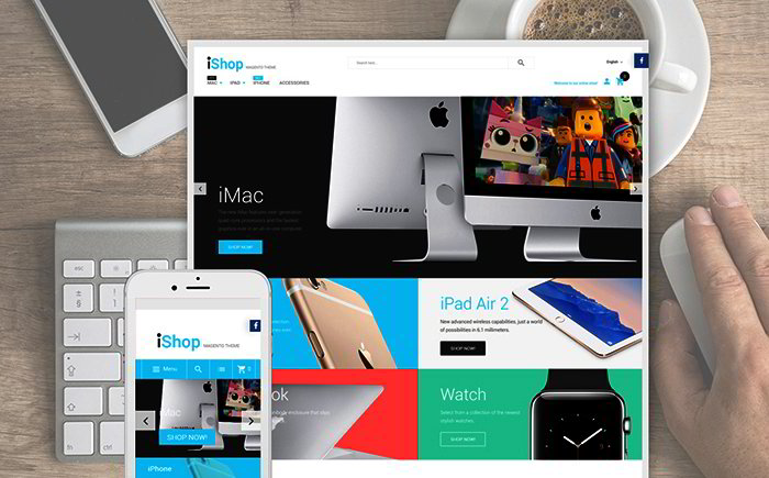 Electronic Devices Magento Template
