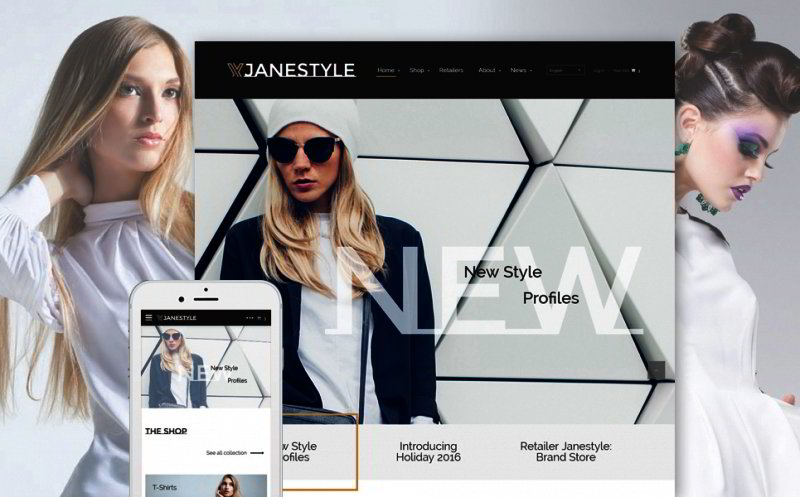 Fashion Web Template