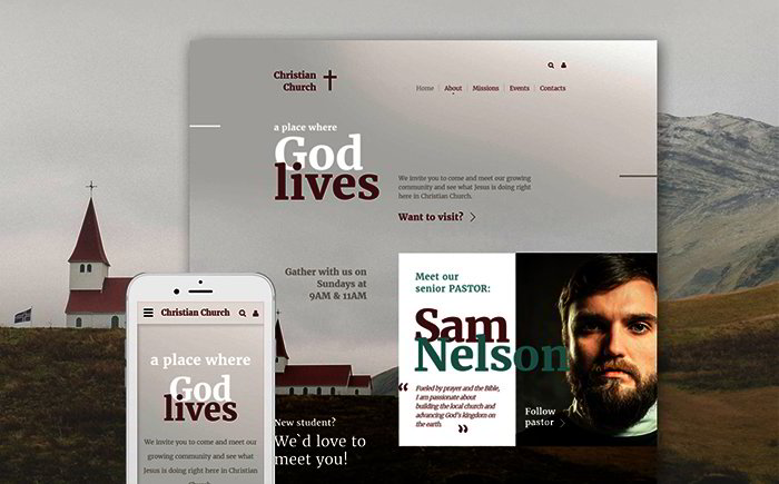Christian Responsive Website