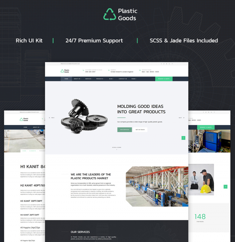25 Top-selling Website Templates for October 2017 - Templates