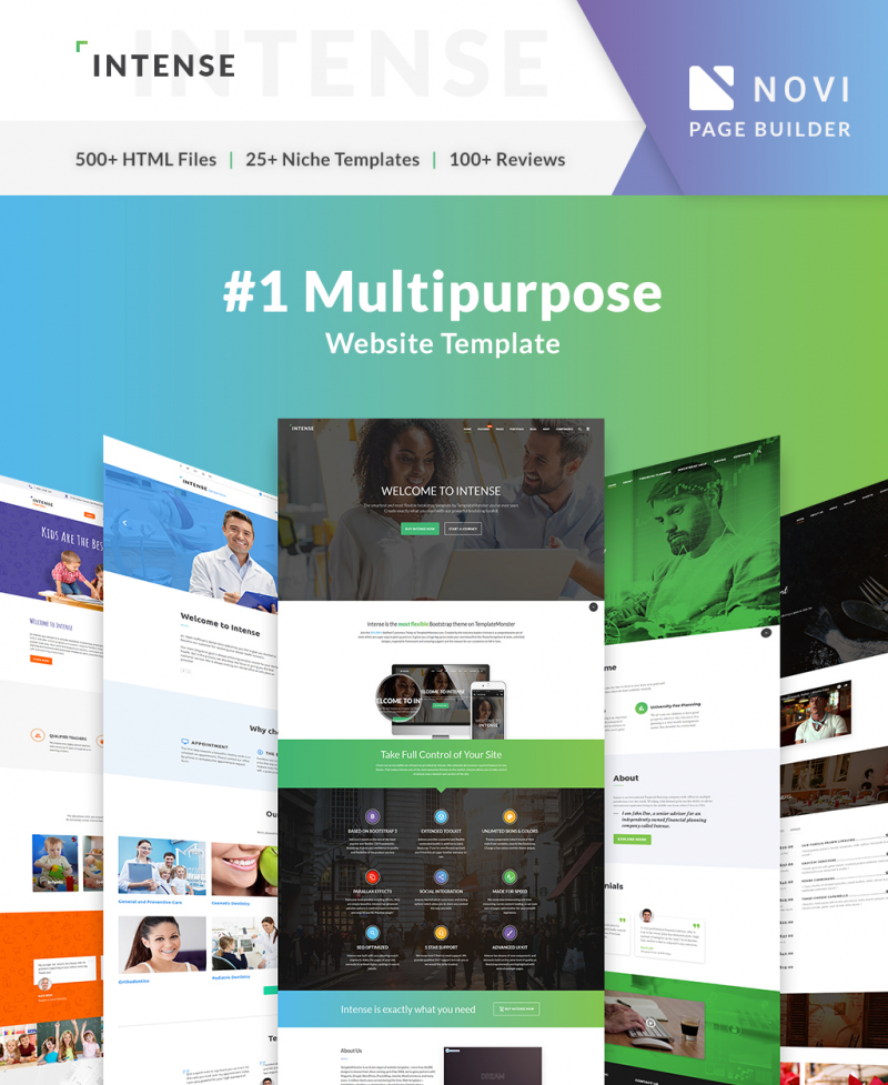 Trendy Website Templates For November Templates - What website template is this